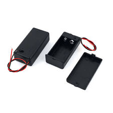 1pc  9V Volt Battery Holder Box Case  DC with Wire Lead OFF ON Switch Cover