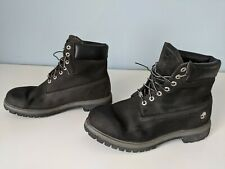 Timberland 6-Inch Premium Leather Waterproof Boot - Black - Size 12