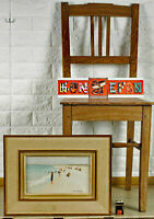 Henri André Martin 1918-2004 Oil Painting Beach France Impressionist Andre