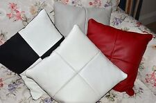 Brand NEW 40x40cm Genuine Leather Cushion Cover - Make your Color design!