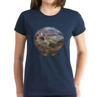 CafePress Grand Canyon 4 T Shirt Women's Cotton T-Shirt (93054753)