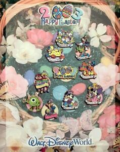 Disney Pin: WDW - Easter Parade of Pins 2003 (Mat/Pin Card) & 1 Pin