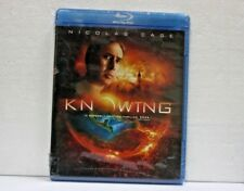KNOWING BLU RAY DISC BNEW SEALED