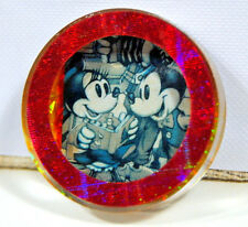 Vintage Disney Refrigerator Magnet Mickey Mini Mouse Frame Acrylic Collectible