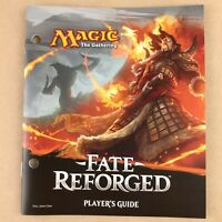 MTG Fate Reforged Player's Guide & Illustrated Card Encyclopedia