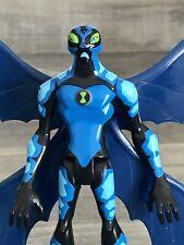 """Bandai Cartoon Network Big Chill Ben 10 Alien 4"""" Action Figure Blue CN"""