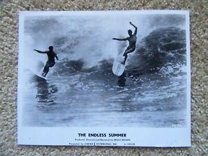 ENDLESS SUMMER ORIGINAL 1964 BW MOVIE STILL SURFS UP EX