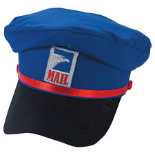 Mail Carrier Hat Polyester Cap USPS Mailman Man Delivery Costume Postman
