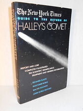 The New York Times Guide to the Return of Halley's Comet by Holcomb B. Noble,...