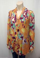 Geometrische Lockre Sitzende Damenblusen,-Tops & -Shirts im Tuniken-Stil mit Baumwollmischung