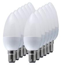 12/6x B15 Small Bayonet Cap 3W LED Candle Bulbs 35W Spotlight Energy Saving Lamp