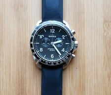 a04820ac2 Shinola The Rambler Mens Watch With 44mm Black Face & Silicone Strap
