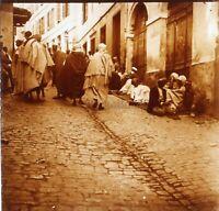 Algeri Algeria Foto Stereo PL58L29n10 Placca Lente Vintage