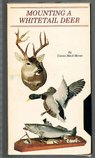 Taxidermy Video,Mounting A Whitetail Deer~STEP-BY-STEP[VHS]Master Connie M Moran