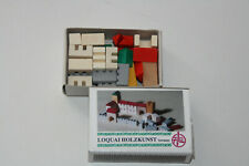 Puppenstube Burg  fürs Kinderzimmer Holz  Miniatur 1:12 Puppenhaus