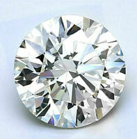 0.95 CT Loose Round Classic Diamond 6.5 mm White Moissanite with GIA Certificate