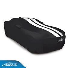 COVERKING Satin Stretch™ CAR COVER; Black/white stripes;  2010-2015 Camaro COUPE