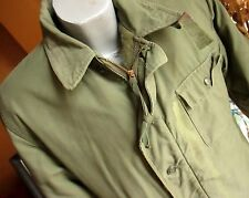 VINTAGE ORIGINAL USN US NAVY A-2 A2 DECK JACKET PERMEABLE 1972 VIETNAM MEDIUM