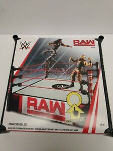 WWE Wrestling Raw Superstar Ring [Spring-Loaded Mat] NEW