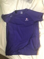 Mizuno USA Volleyball Purple Short Sleeve Shirt XL