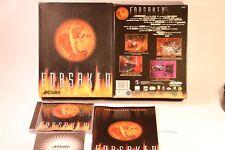PC GAME FORSAKEN PC CD-ROM WINDOWS 95 BY ACCLAIM 1997 BIG BOX GAME