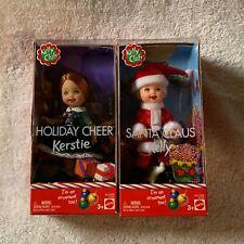 Kelly Club Ornament Holiday Cheer Kerstie & Santa Claus Kelly