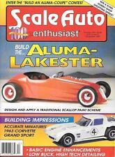 Scale Auto Enthusiast 100 1995 Corvette Grand Sport Engine Detailing Aluma Coupe
