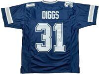 Trevon Diggs autographed signed jersey NFL Dallas Cowboys JSA COA Alabama