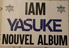 IAM - YASUKE - AFFICHE GEANTE 70x100cm - Superbe - envoi en tube