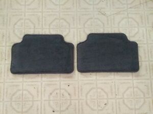 NOS 1996 Ford LINCOLN MARK VIII REAR MAT SET F6LB 6313106 AA set of 2