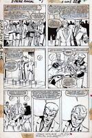 X-Factor Annual #1 page 18 Original Art Bob Layton Brett Breeding Marvel 1986