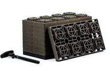10 Of RV Leveling Blocks with T Handle No Slip Interlock Stack Customize Level