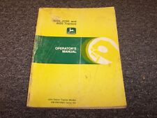 John Deere 4050 4250 4450 Tractor Owner Operator User Guide Manual OMRW16851