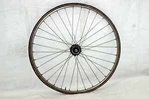 Mavic Monthlery Pro Rear Wheel 700c 125OLW Shimano HB-6207 Hub Tubular Charity!