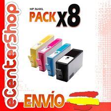 8 Cartuchos de Tinta NON-OEM HP 364XL - Photosmart Premium B210 e