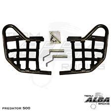 Predator 500 Polaris   Nerf Bars   Alba Racing   Black bar Black nets  208 T1 BB