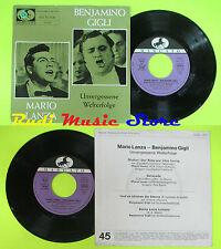 LP 45 7'' BENJAMINO GIGLI MARIO LANZA Unvergessen welterfolge germany cd mc dvd