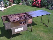 British Army Field Kitchen No5 4 Burner Propane Cooking Stove Scouts, Cadets BBQ