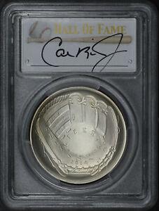 2014-P Baseball Hall of Fame $1 PCGS MS-70 Cal Ripken Jr. Signature