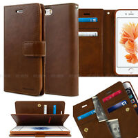 Double Flip Fold leather wallet Book Case Cover for APPLE iPhone XR XS 8 Plus 7