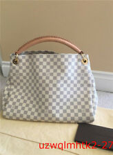 Authentic Louis Vuitton Artsy MM Damier Azur Shoulder Bag