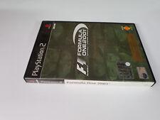 Gioco Play Station 2 PS2 FORMULA ONE 2001 Ed. limitata Con libretto ITA 2 dischi