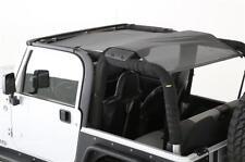 Jeep Wrangler TJ Cloak Extended Mesh Top 1997-2006 Black Smittybilt 95600