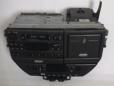 00-03 JAGUAR S-TYPE RADIO CASSETTE CONSOLE CLIMATE CONTROL OEM XR8F-18K876-DHLGR