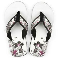 filles URBAN BEACH pétale sandales tongs plage vacances [ blanc, taille 10]
