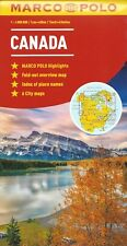 Marco Polo Canada Map *FREE SHIPPING - NEW*