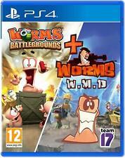 Worms Battlegrounds + gusanos WMD | PlayStation 4 PS4 Nuevo