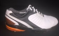 FootJoy Flex Zone Model 53119 Golf Shoes 7 1/2 W Orange Black White
