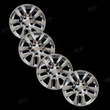 "New Wheel Covers Fits 2013 2017 Altima 16"" Chrome 10 Spoke Set of Four"