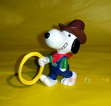 "Minifigure United Feature SNOOPY COWBOY - 6 cm. 2,3"" USED C2"